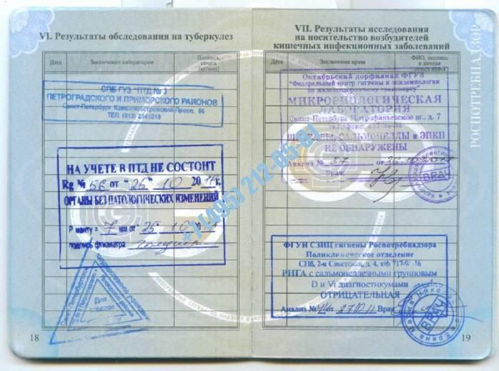Быстрое продление медицинской книжки в Москве официально